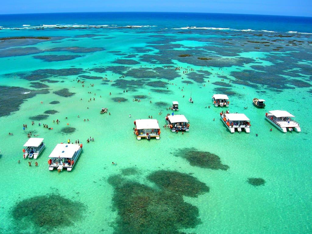 Tour para la Playa y las Piscinas Naturales Maragogi